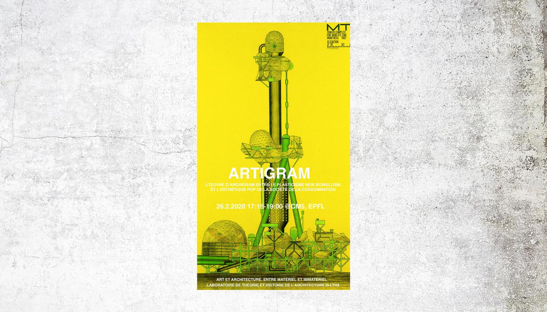 ARTIGRAM. L'œuvre d'Archigram entre le plasticisme New Bowellism  et l'esthétique pop de la Société de la consommation