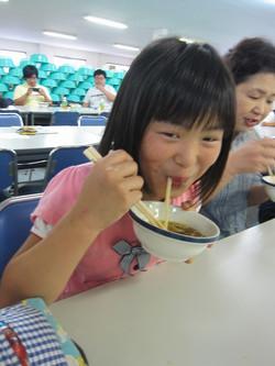 エコツアー5(うどん試食)