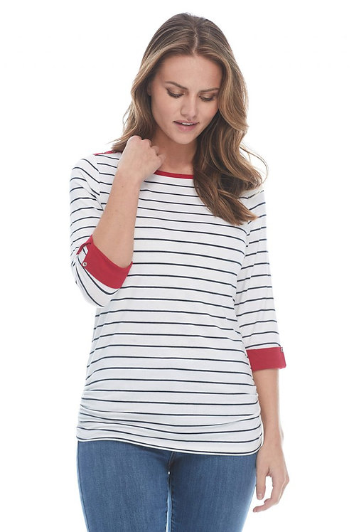 Nautical Navy Stripe