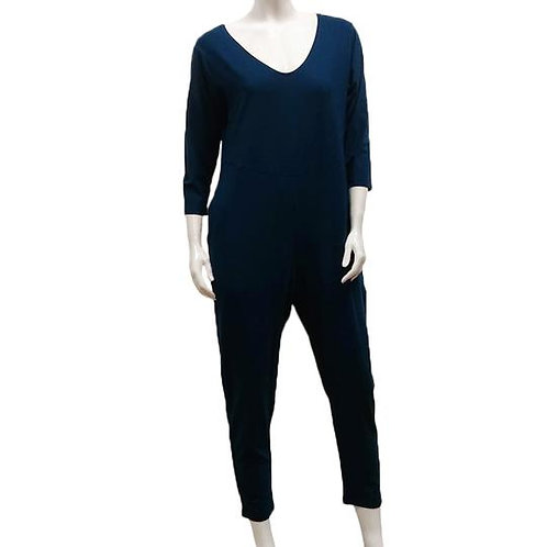 Bamboo French Terry Pocket Jumpsuit