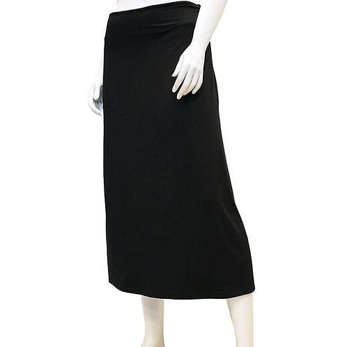 Bamboo A-Line Midi Skirt