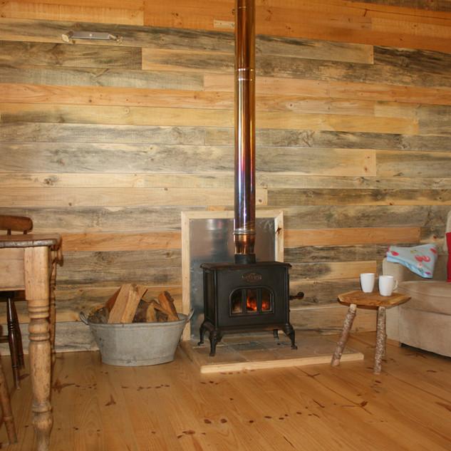 Inside Cerise Cabin