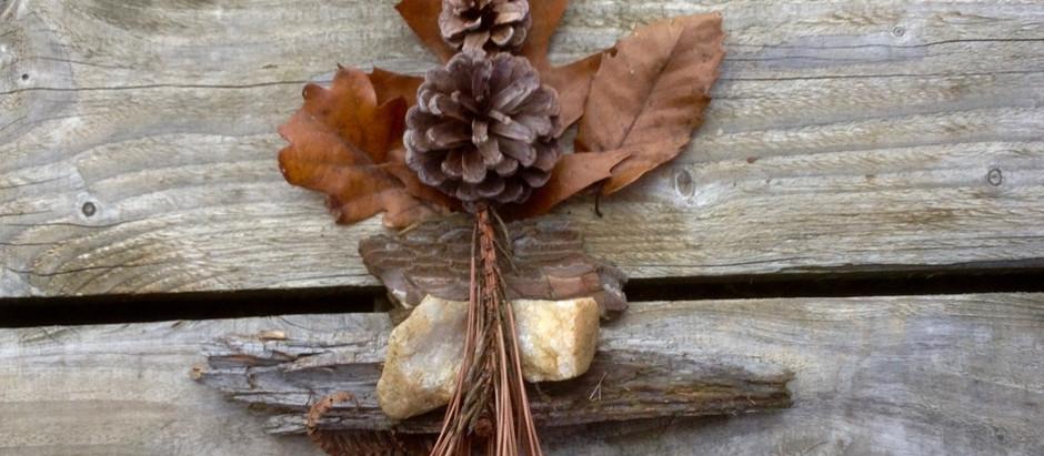 Yggdrasil - the tree of life. Woodland art