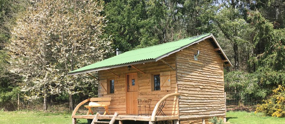 Cabane Cerise petit coin de paradis