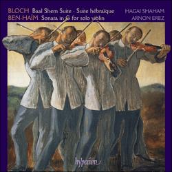 Bloch & Ben-Haïm: Violin Music