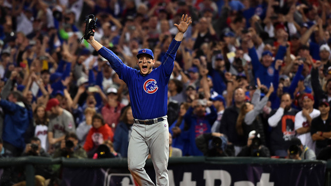 Great Cubs-Indians World Series Game 7, great for Arizona spring training