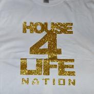 HOUSE 4 LIFE SHIRT GOLD