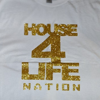 HOUSE 4 LIFE SHIRT GOLD