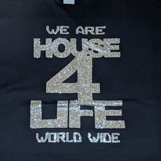 HOUSE 4 LIFE SHIRT BLACK