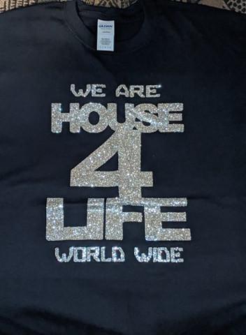 HOUSE 4 LIFE SHIRT BLACK