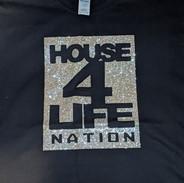 HOUSE 4 LIFE SHIRT SILVER