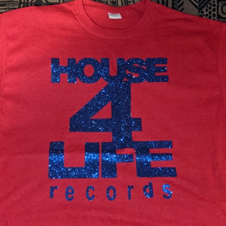 HOUSE 4 LIFE SHIRT RED & BLUE