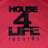 HOUSE 4 LIFE SHIRT RED & BLACK