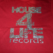 HOUSE 4 LIFE SHIRT RED & SILVER