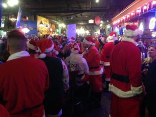 Invasion of the…Santas?