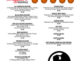 Special Menu for SEC Tournament