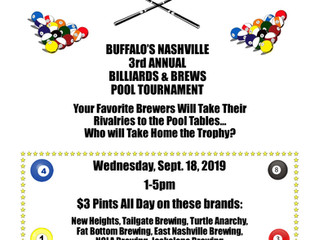 2019 Billiards & Brews