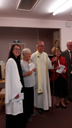 Bishop Alan at our Confirmation