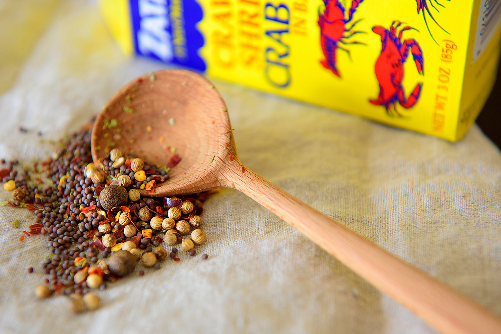 Zataran's is my go-to seafood spice mix for poaching, or boiling,