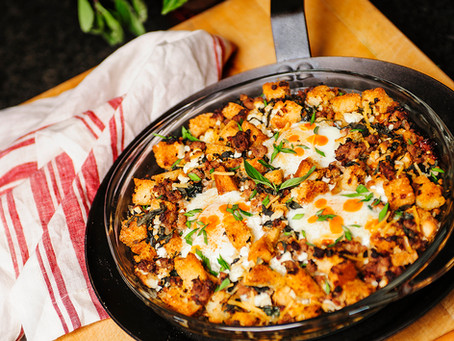Wild Turkey Italian Breakfast Skillet