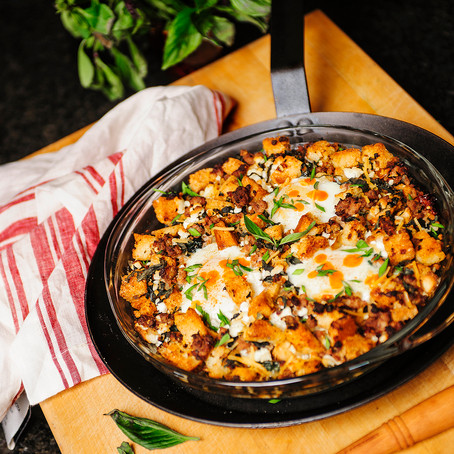 Wild Turkey Italian Breakfast Skillet