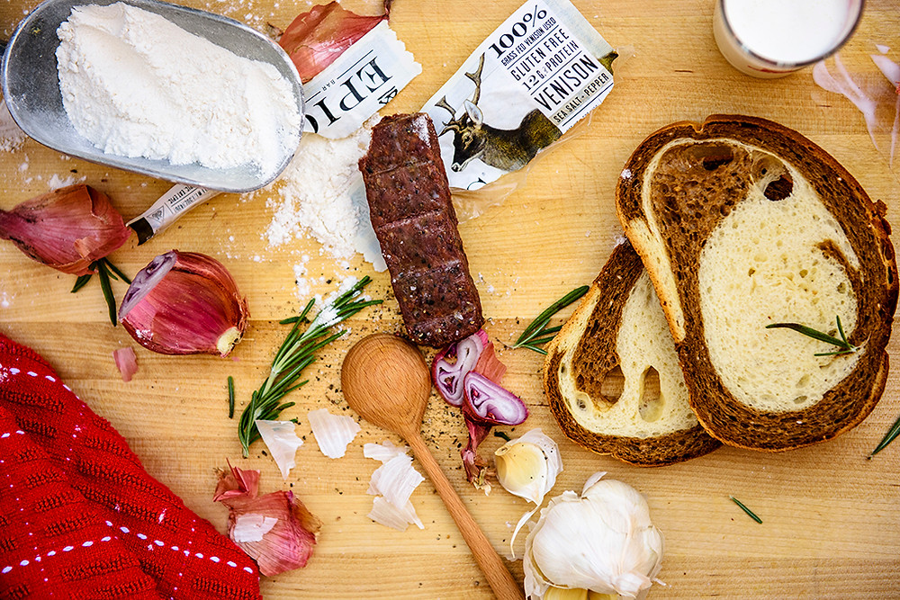 Simple canoe base camp breakfast ingredients