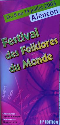 11ème édition - 2003