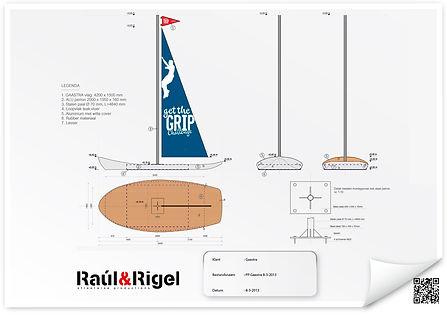 Grafisch ontwerp boot