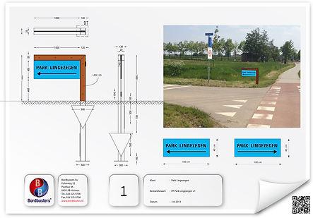 Grafisch ontwerp Park Lingezegen