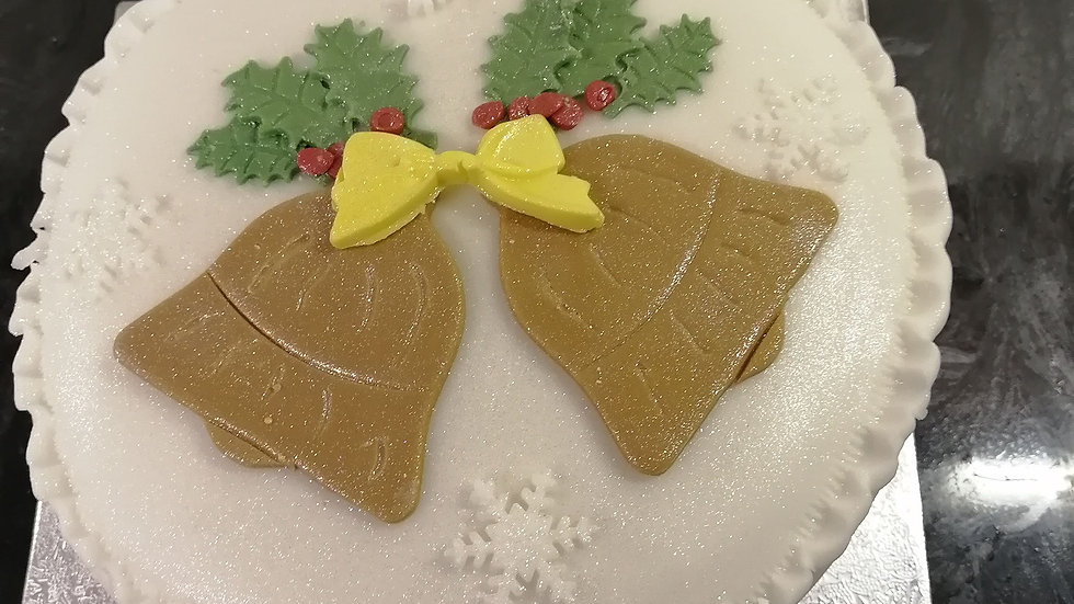 Jingle Bells Christmas Cake