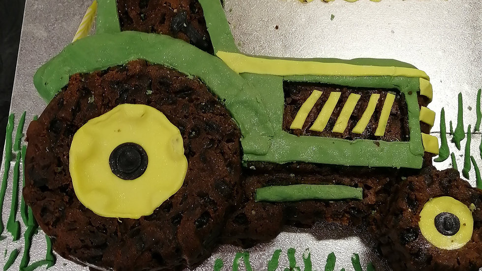 Tractor Fruitcake