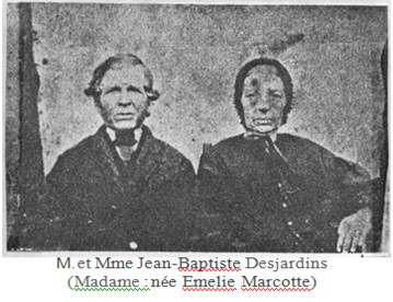 Les premiers colons de Saint-Sauveur
