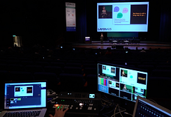 Live streaming presentations broadcast from a conference