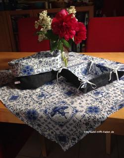Tischset Utensilo, Brotkorb, Tischdecke