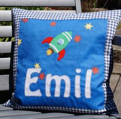 Namenskissen Emil
