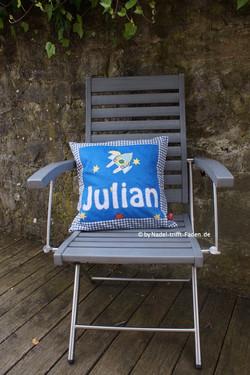 Namenskissen Julian