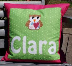 Namenskissen Clara