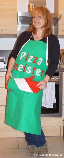 Schürze Pizzameister