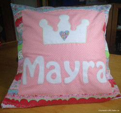 Namenskissen Mayra