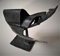 Tjerrie Verhellen, Piranha nr.8, brons, 16x16x12