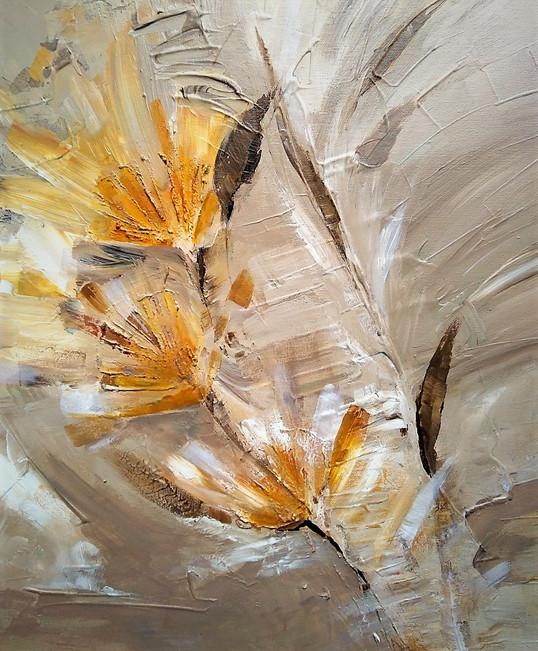 Lena Van Landuyt, z.t., acryl op doek, 50x50