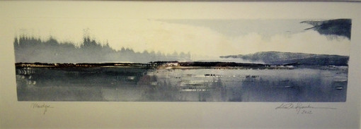 Leen Dereymaeker, Stille waters, monotype