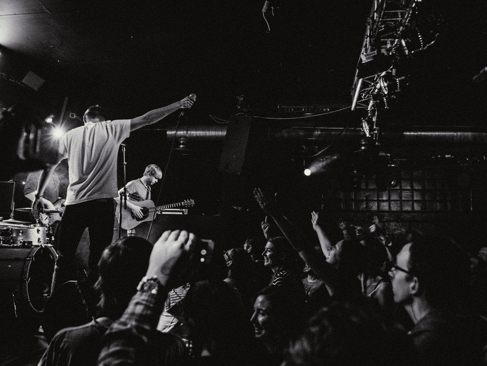 Just Jack, live in London, 2018. Photography by Merry St.