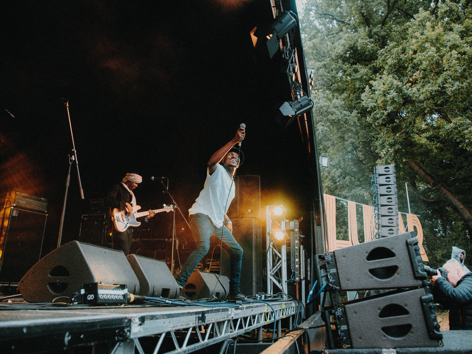 Songhoy Blues, live at Lunar Festival 2018. Photography by Merry St.