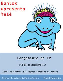 Lançamento do EP Yeté