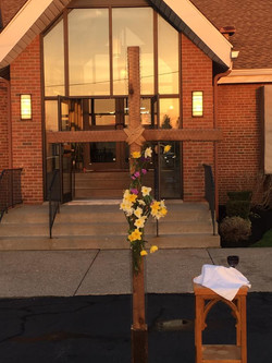 easter morning service early