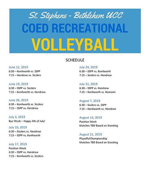 SSBUCC Volleyball Schedule 2019_updated