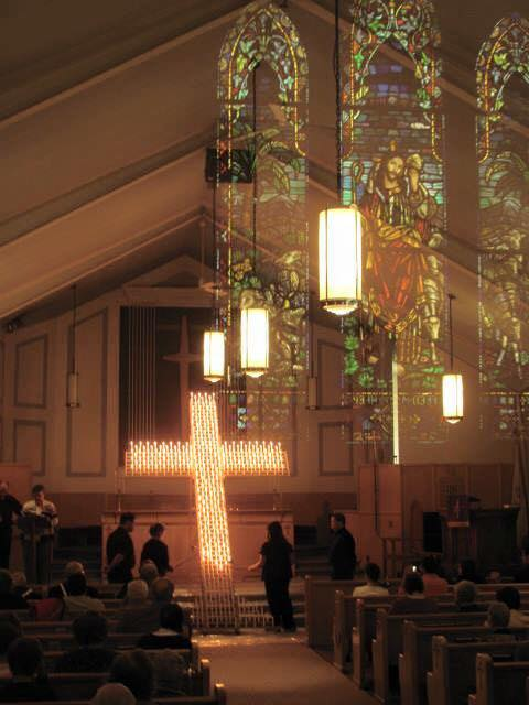 lighted cross 1