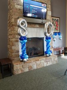 80th Birthday Columns