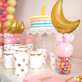 Baby Moon Candy Cup Party Favors